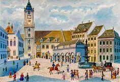 Bratislava, Old Pictures, Big Ben, Times, Travel, Old Photos, Viajes, Destinations, Traveling