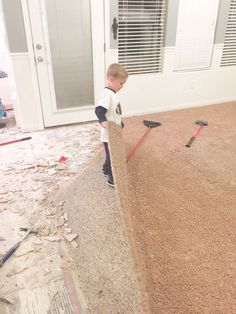 Carpet Removal Tips and Tricks - All Things Thrifty