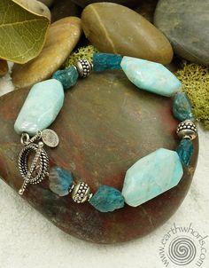 Raw Gemstone Bracelet