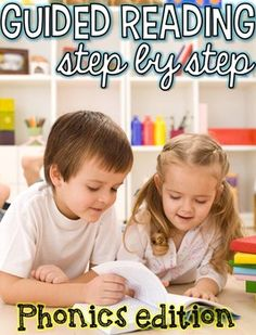 Guided Reading: Step by Step Phonics for Kindergarten