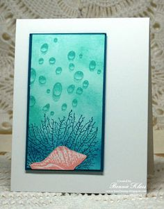 Stamping with Klass: By the Tide with Water Droplets