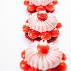 Gateaux St. Honoré Fruits Rouges by Cédric Grolet, Chef Pâtissier of Le Meurice.