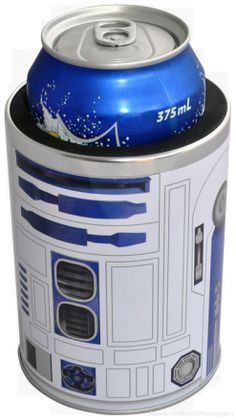 R2D2 Koozie.... Just because we were talking about it earlier Courtney!!!