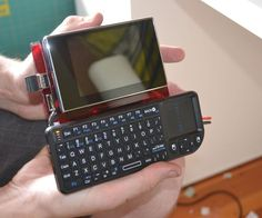 Make a Portable Computer Using a Raspberry Pi - Have you ever wanted a portable computer you can take with you? This is the easiest way to build your own. For those of you who do not know what a Raspberry Pi is,… - Diy Tech, Cool Tech, Tech Gadgets, Cool Gadgets, Amazing Gadgets, Alter Computer, Computer Technology, Energy Technology, Technology Gadgets