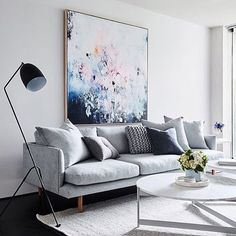 Living room art Living room art Living room art is a design that is very popular today. Design is the search for the house so it looks modern. Every homeowner wi The post living room art appear Living Room Grey, Living Room Decor, Living Rooms, Apartment Living, Apartment Layout, Artwork For Living Room, Apartment Goals, Apartment Design, Living Spaces