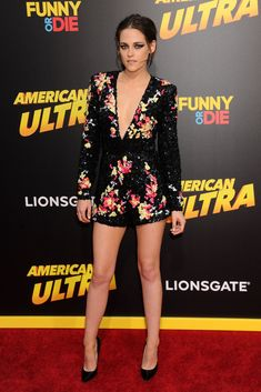 Kristen Stewart at the premiere of American Ultra