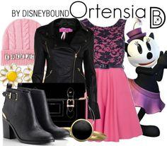 Disneybound: Ortensia
