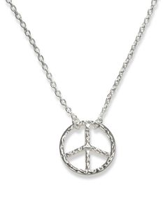 Hammered Peace Sign