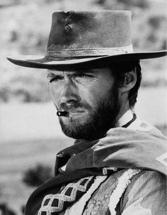 """""""Clint Eastwood as """"The Man with No Name"""" in Sergio Leone's """"Dollars Trilogy. Hollywood Actor, Hollywood Celebrities, Classic Hollywood, Hollywood Actresses, Actor Clint Eastwood, Scott Eastwood, Man Up, The Man, Eastwood Movies"""
