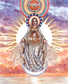 Our Lady of the Morning Star by Theophilia.deviantart.com on @DeviantArt
