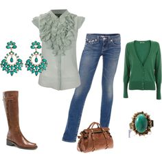 i think i could make this work....i love green :)