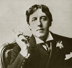 noted dandy, Oscar Wilde