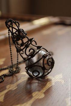 Pendants handmade. Fair Masters - handmade pendant Enchanted. Handmade. - tower