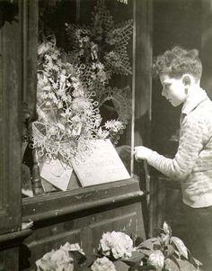 Dora Maar - Little Boy Looking in a Funeral Store Window