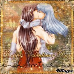 InuYasha et Kagome : Happy Valentine's Day -- Be mine -- Picture ...