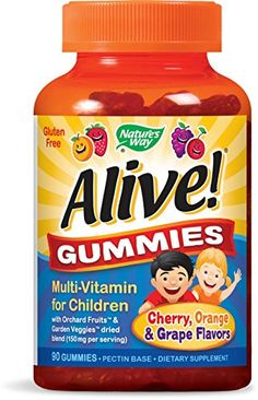 Natures Way Alive Premium Gummies for Children >>> Details can be found by clicking on the image. (This is an affiliate link and I receive a commission for the sales)