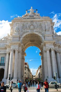 PÇA DO COMÉRCIO - 12 Things to do in Lisbon in Europe, Lisbon, Portugal   Travel   Hand Luggage Only