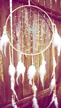 ;; great dream catcher. have to make this!