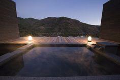 Open air bath!! @auratachibana hakoneyumoto,japan