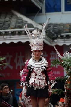 China   Miao festival silver jewellery   © Edward Adventures