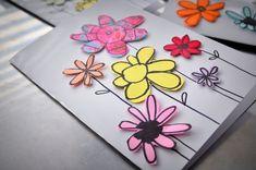 Paper+Scraps+Flower+Cards