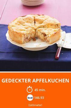 Gedeckter Apfelkuchen - smarter - Zeit: 45 Min. | eatsmarter.de