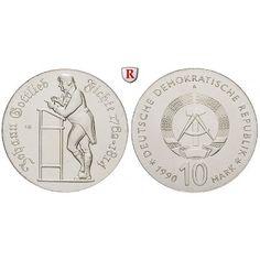 DDR, 10 Mark 1990, Fichte, st, J. 1636: 10 Mark 1990. Fichte. J. 1636; stempelfrisch 85,00€ #coins