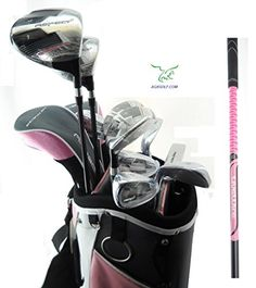 Golf Balls Ideas | Orlimar Ladies Aspect Pink Right Hand Petite Length All Graphite Golf Club Set wLadies Cart BagDriver3 Wd4  5 Hybrids79 IronsPWSW Putter Fast Shipping From AGXGOLF * For more information, visit image link. Note:It is Affiliate Link to Amazon.