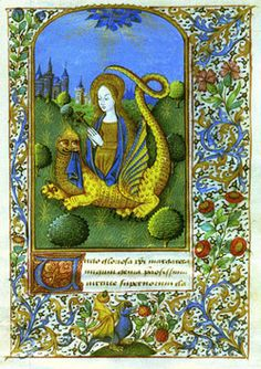 A medieval French book of hours