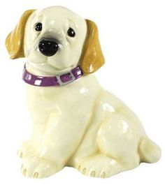 yellow Lab cookie jar Want this, too!