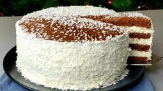 Easy Cakes To Make, How To Make Cake, Vanilla Cake, Panna Cotta, Cake Recipes, Cheesecake, Food, Box Cake, Apple Pie