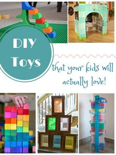 Easy to make toys that have the WOW-factor!