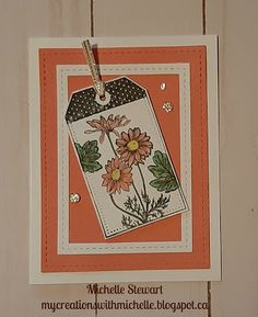 Heart Cards, Close To My Heart, My Stamp, Flower Cards, Paper Piecing, Homemade Cards, Paper Crafting, I Card, Cardmaking