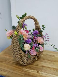 바구니 꽃다발