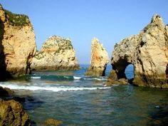 Praia da Rocha in the Algarve