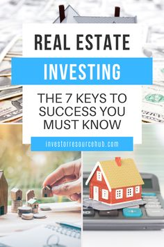 If you're interested in investing in the real estate market, you should learn about these 7 keys for unlocking your true success! #RealEstateInvesting #Finance #Investing #Business Value Investing, Investing Money, Real Estate Investing, Saving Money, Best Way To Invest, Where To Invest, Investment Quotes, Real Estate Tips, Real Estate Marketing