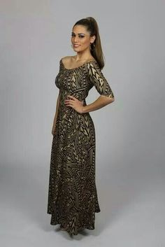 Love MENA designers. One of their beautiful dresses. Proud islander