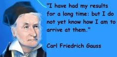 Image result for carl friedrich gauss