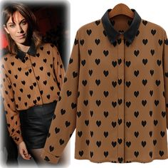 ♥ Free shipping to United States ♥ Note: This item is a pre-order item which require min. 12 days for processing before dispatch Product Condition : Brand New Korea Import Product Measurement :  Shoulder 38cm, Sleeve 58cm, Bust 102cm, Total length 62cm Instant inquiry via msg LINE ID : envyme...