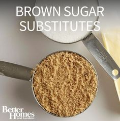Ever wondered if you can substitute white sugar for brown sugar? You can! Try one of our emergency brown sugar substitutes or healthy brown sugar substitutes./