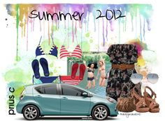 Go on Tour with Prius c by haleymarie1210, created by haleymarie1210 on Polyvore