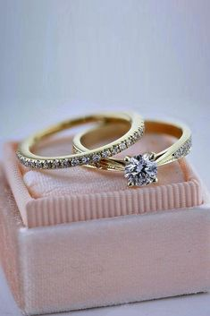 18 Best Brilliance Engagement Rings For Somebody Special ❤️ best brilliance engagement rings gold wedding set pave band round cut ❤️ See more: http://www.weddingforward.com/best-brilliance-engagement-rings/ #weddingforward #wedding #bride #engagementrings #bestbrillianceengagementrings