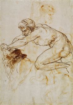Raphael-Hercules-and-the-Nemean-Lion-c1508.jpg (1097×1563)