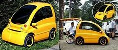 Designed in Hungary, the Kenguru is a car specially designed for wheelchair users. Jeep Lights, Interior Design Courses, Jeep Cars, Cool Technology, Mini Things, Cute Cars, Hot Wheels, Minis, Transportation