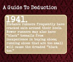 A Guide To Deduction #1941   Suggested Anonymously