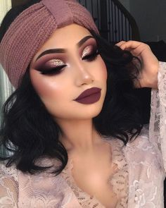"80.9k Likes, 696 Comments - ALINA (@makeupbyalinna) on Instagram: ""My kind of fall makeup ✌ Makeup deets: Eyes: @limecrimemakeup Venus palette on the eyes…"""
