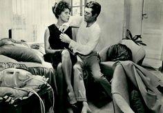 Marcello Mastroianni and Sophia Loren