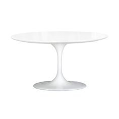 This side table delivers a punch of fresh and contemporary attitude with just the right nostalgic nod to the days of parlor décor. You'll love its clean lines and tulip-style stem and base. Serve guest...  Find the Tulip Dining Table, as seen in the Labor Day Sale: Furniture Collection at http://dotandbo.com/collections/labor-day-sale-furniture?utm_source=pinterest&utm_medium=organic&db_sku=DBI7004-wht