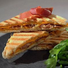 Sandwich Jambon cru Aoste moutarde et miel