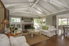 Low Sloped Ceiling Design Ideas, Pictures, Remodel, and Decor - page 12 **I LOVE ALL of this!!